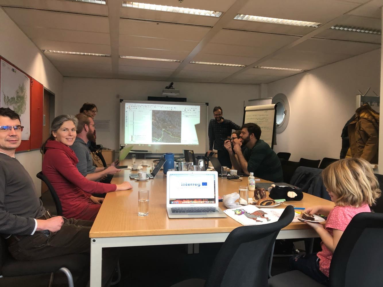 Pracovní setkání ve Vídni