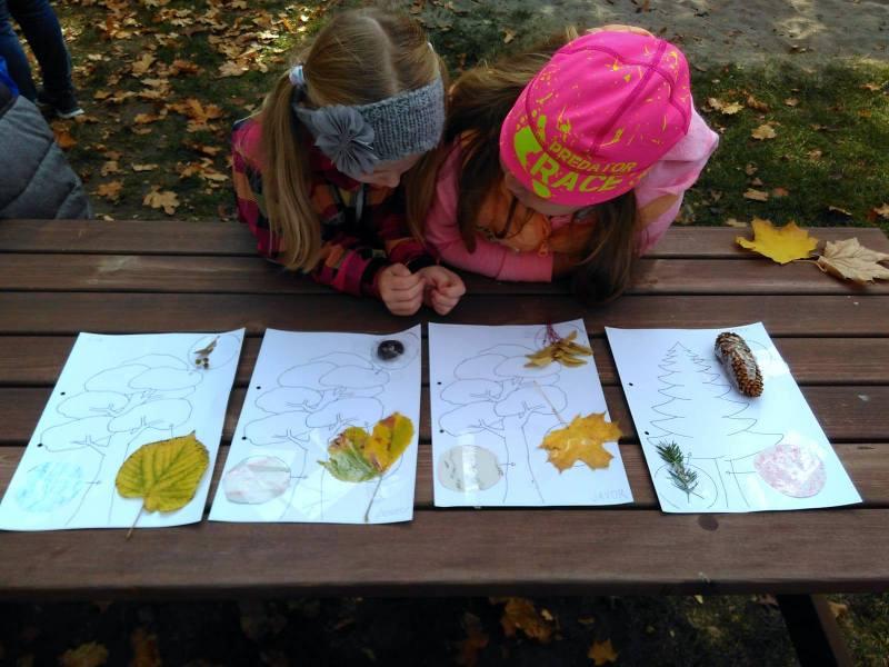 Tvoříme a učíme se v zahradě - podzim